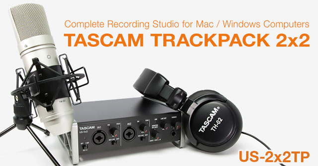 TASCAM TRACKPACK 2x2-SC